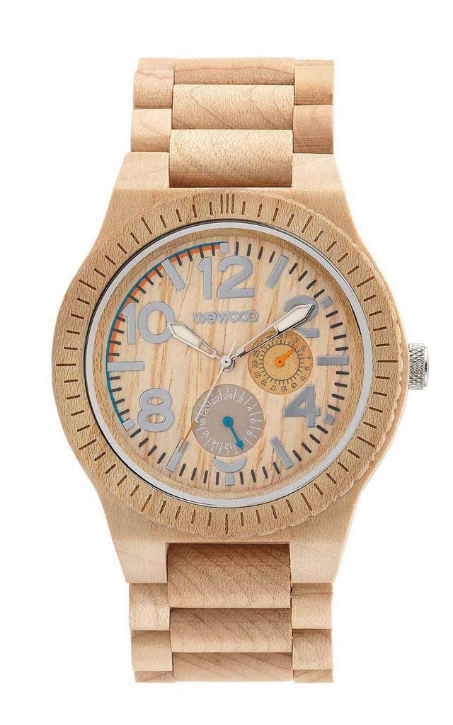 Relógio de Madeira WeWood Kardo Beige