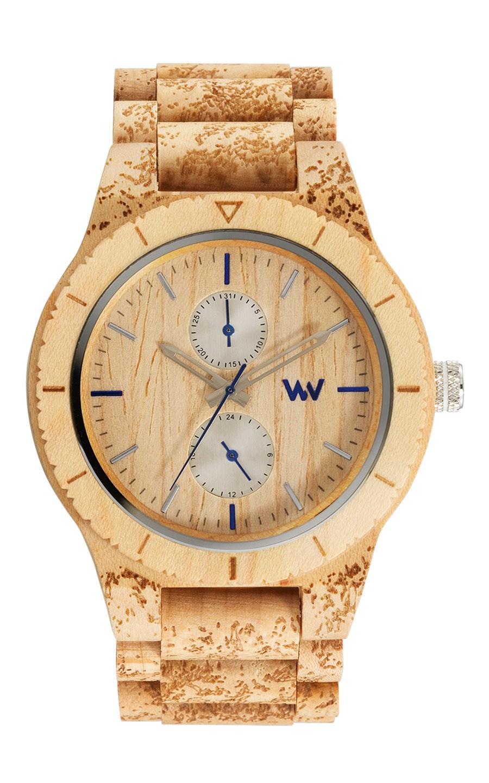Relógio de Madeira WeWOOD Kean Stone Beige