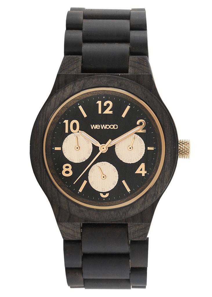 Relógio de Madeira WeWood Kyra Black Rose