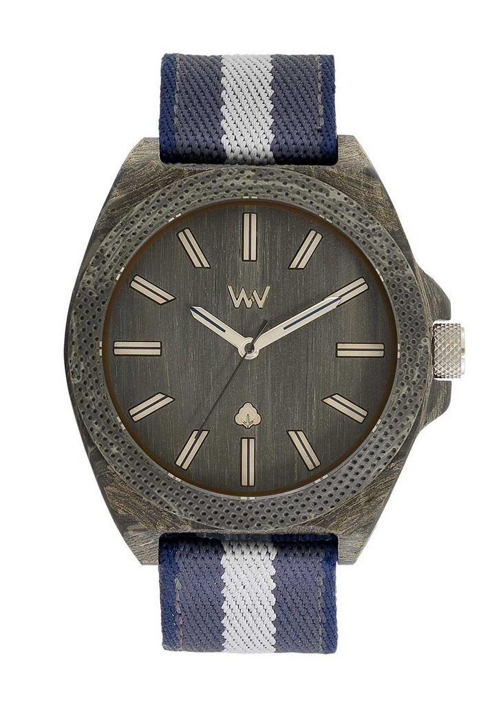Relógio de Madeira WeWOOD Phoenix 46 Teak Blue