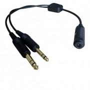 Adaptador Para Headset - H-GA