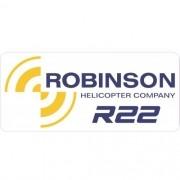 Adesivo - Adesivo - Robinson Company R22