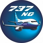Adesivo Boeing 737