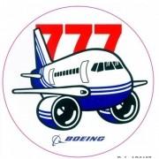 Adesivo - Boeing 777