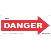 Adesivo - Danger