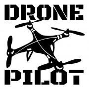 Adesivo Drone Pilot