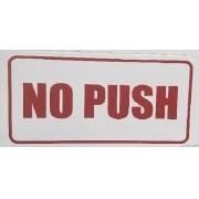 Adesivo No Push