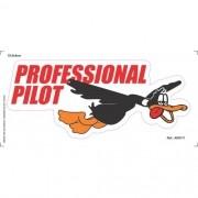 Adesivo - Professional Pilot
