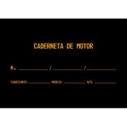 Caderneta de Motor (Capa Dura)
