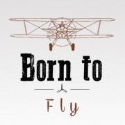 Camiseta - Baby Look - Born to Fly (Revo Air)