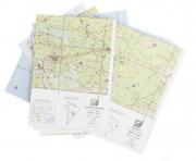 Kit de Cartas Voo Visual - Região Centro-Oeste
