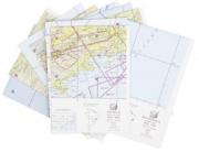 Kit de Cartas Voo Visual - Região Sudeste