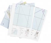 Kit de Cartas Voo Visual - Região Sul