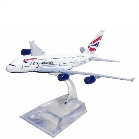 Miniatura Airbus A380 - British Airways