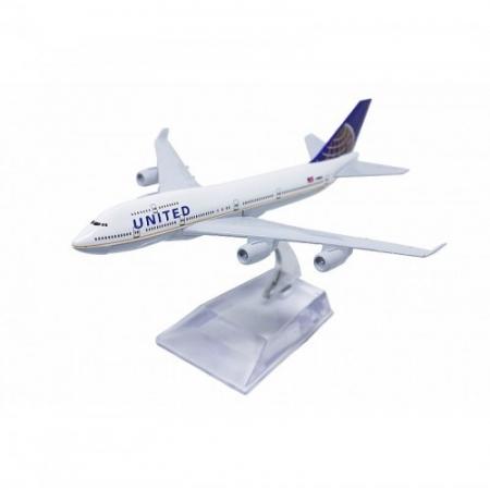 Miniatura Boeing B747 - United