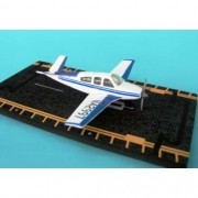 Miniatura HotWings - Beechcraft Bonanza