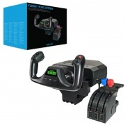 Yoke Flight System com Throttle - Saitek / Logitech