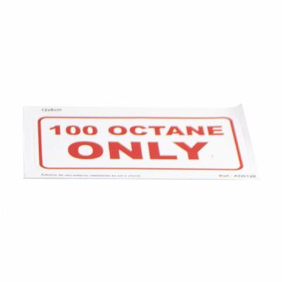 Adesivo 100 Octane Only