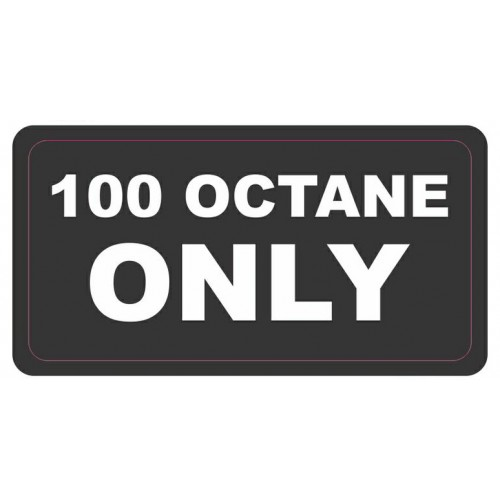 Adesivo - 100 Octane Only