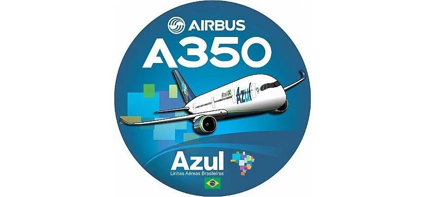 Adesivo A350 Azul