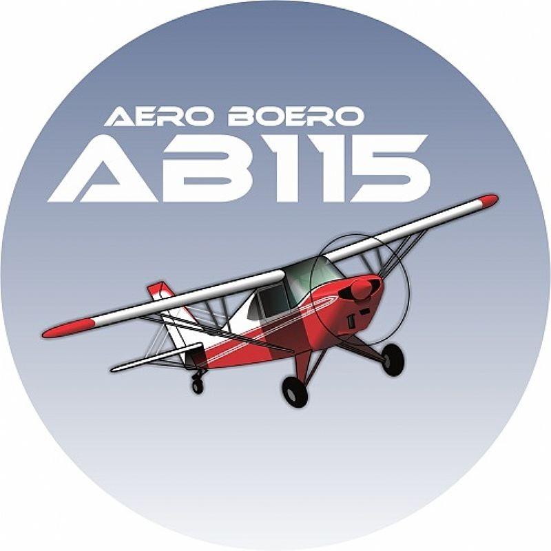 Adesivo Aero Boero