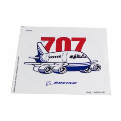 Adesivo Boeing 707