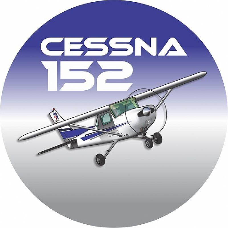 Adesivo Cessna 152