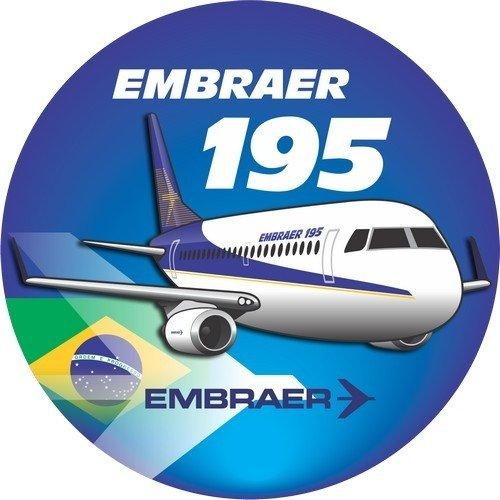 Adesivo Embraer 195