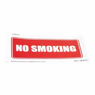 Adesivo No Smoking