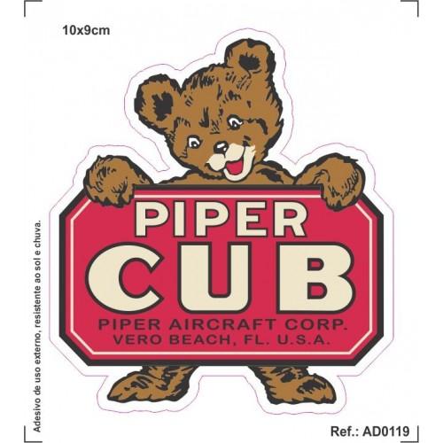 Adesivo - Piper Cub