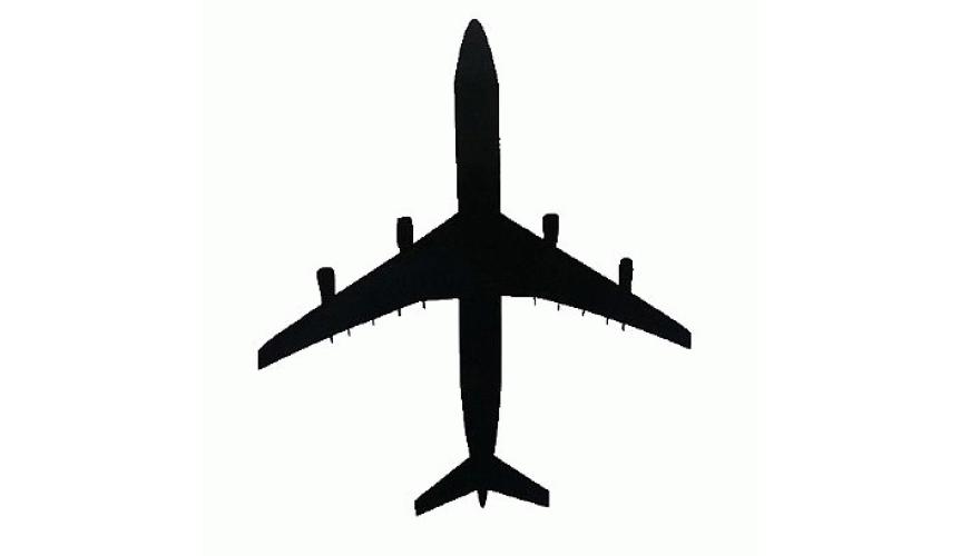 Adesivo Plotter - Airbus Branco