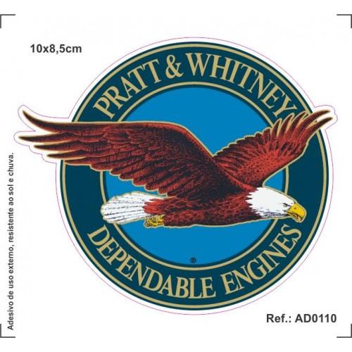 Adesivo - Pratt & Whitney