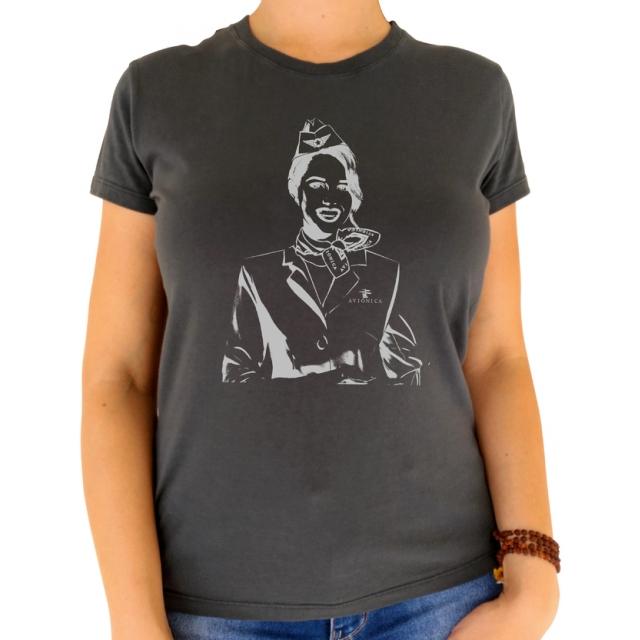 Camiseta Feminina - Comissário de Voo