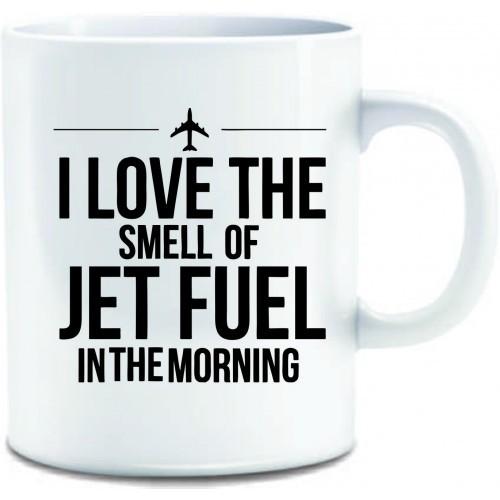 Caneca - I Love the Smell of Jet Fuel