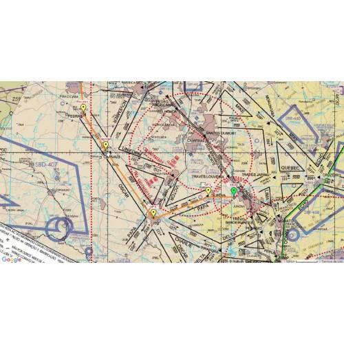 Carta dos Corredores (REA - TMA) - Belo Horizonte - Avião