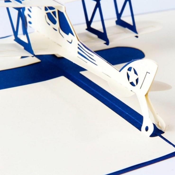 Cartão Presente 3D Monomotor - AeroAir