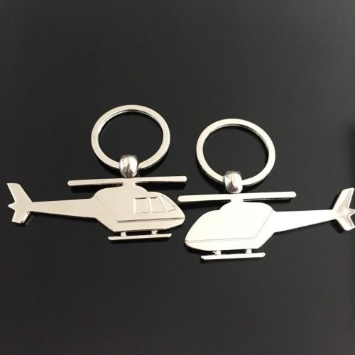 Chaveiro - Helicóptero Niquelado