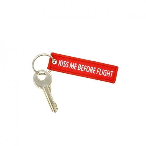 Chaveiro - Kiss me Before Flight (Mini)