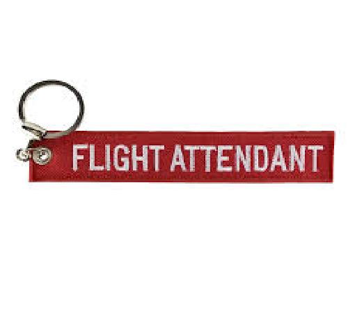 Chaveiro Remove Before Flight - Flight Attendant