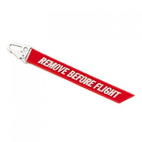 Chaveiro - Remove Before Flight (Mosquetão)