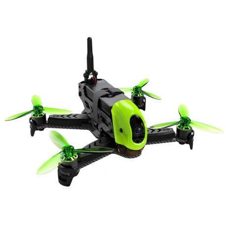 Drone The Hubsan X4 Jet H123D RFT Version HD Câmera 720p - Preto/Verde
