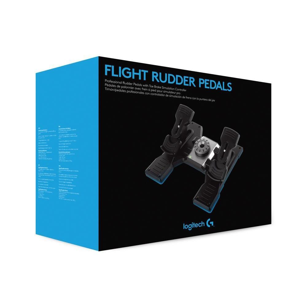 Flight Rudder Pedals - Saitek Logitech