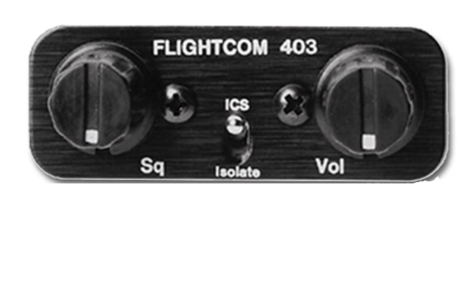 Flightcom 403lsa Intercom