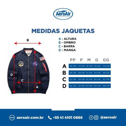 Jaqueta para Piloto (Antichamas) - AeroAir