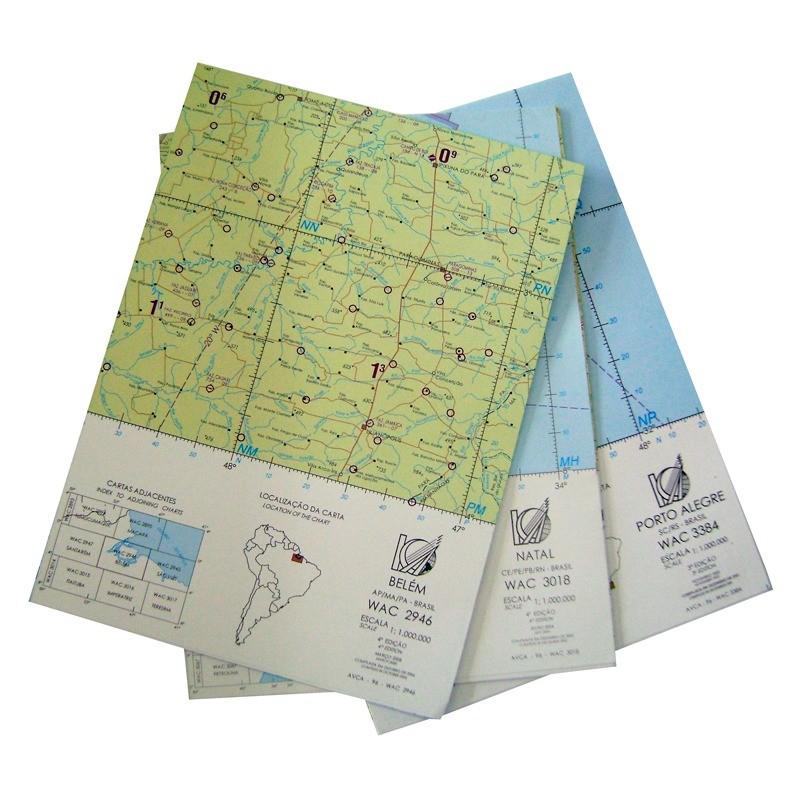 Kit Completo das Cartas WAC - Todo o Brasil