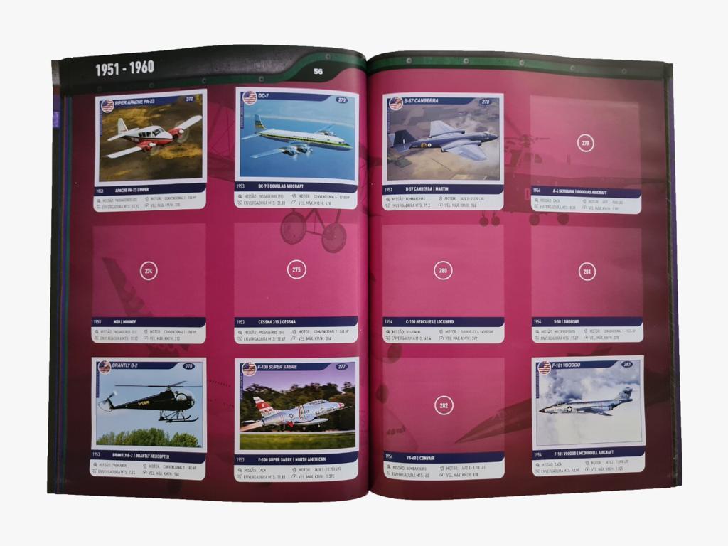 Kit de Álbum + Figurinha (10 Pacotinhos)