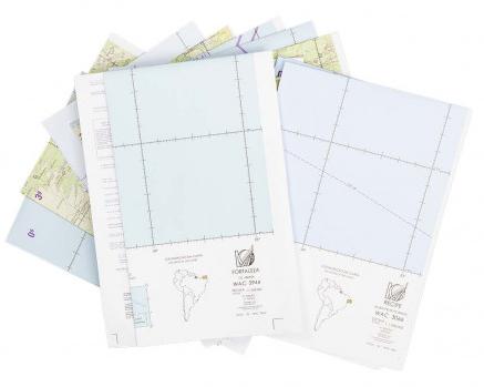 Kit de Cartas Voo Visual - Região Nordeste