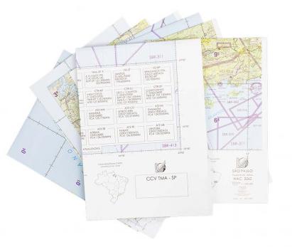 Kit de Cartas Voo Visual - São Paulo