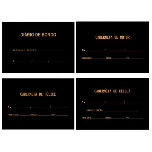 KIT Diário e Cadernetas (Capa Dura)