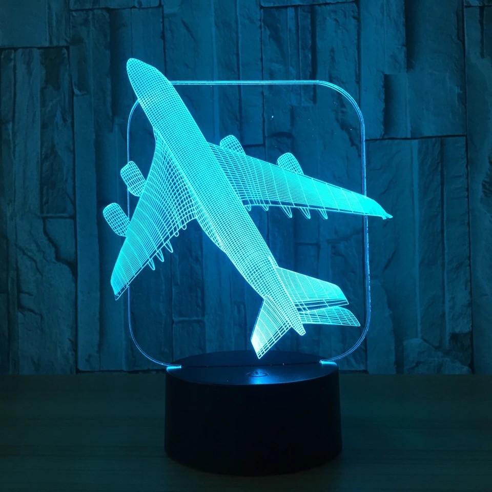 Luminária Led 3D - Boeing